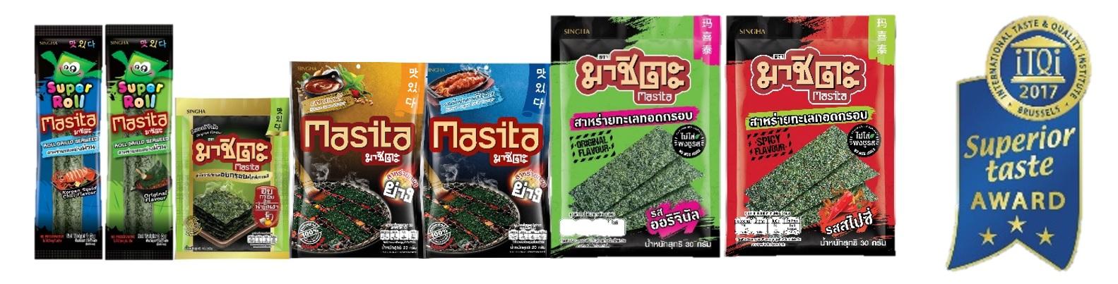 """""""天才枪手"""" 也爱吃好吃健康的玛喜泰海苔Masita"""